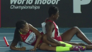 2015 World Relays Women's 4x200 (USA Falls!)