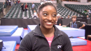 Simone Biles On Floor Fall, Vault, And Role Model Maggie Nichols