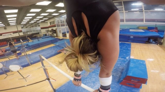 Gymnast/Coach's View: Bail To Handstand